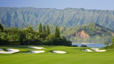 Princeville Resort-Makai Golf Course - Makai 18 | Public Golf Course in Hawaii- Golf Digests list of top 100 golf courses to play.