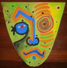 VISUAL ART: Picasso Masks you could be really creative and make the masks out of clay and have the kids design their own mask with different features and colors