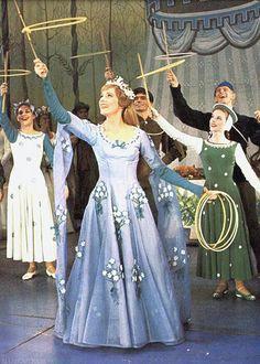 Julie Andrews in Camelot