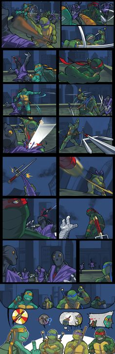TMNT-Relaying Sai by *tmask01 on deviantART