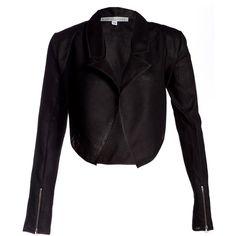 Katie Gallagher Women's Claret Blazer ($340) ❤ liked on Polyvore