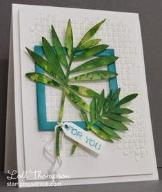 Stamping with Loll: Touch of Nature