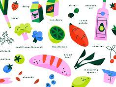 Cookbook illustration library1