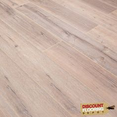 Reinier Smoked Oak 12mm x 190mm V-Groove AC5 1.4367m2 - from Discount Flooring Depot UK. Only £11.99 per m2. 40% off RRP!