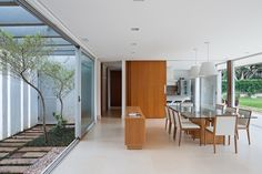 Residência LK | Sala de estar e jantar