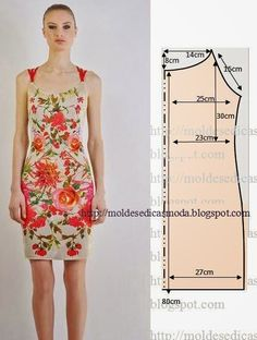 DIY Dress - FREE Sewing Pattern Draft