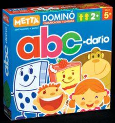 Dominó abc-dario ¡Diversión y aprendizaje garantizados! #juegosmetta