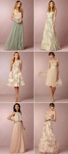 30 Dreamy Bridesmaid Dresses For Your Romantic Wedding