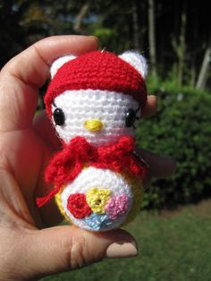 Crochet hello Kitty Pattern on Etsy