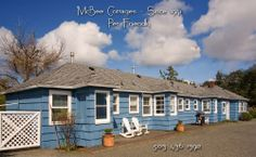 The McBee Cottages is pet friendly and 3 doors from the beach!