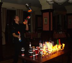 Algarve Weddings   Did We Forget To Mention That Our Flair Bartending Show  Also Include Fire