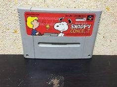 Snoopy Concert Super Famicom Japan NTSC-J Nintendo