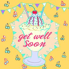 Get Well Soon - my illustration