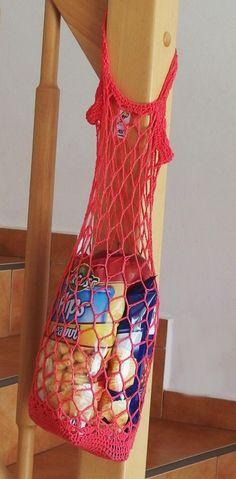 Háčkovaná Síťovka – Jak háčkovat Graphic Tank, Summer Dresses, Tank Tops, Crochet, Handmade, Bags, Women, Baskets, Fashion
