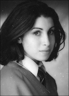 when they were young Amy Winehouse.