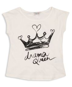 DRAMA QUEEN TEE forever 21