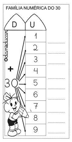 Atividades de alfabetização!! Direitos reservados somente para impressão e compartilhamento de links! First Grade Math Worksheets, Subtraction Worksheets, Preschool Worksheets, Primary School, Elementary Schools, Dyscalculia, Tens And Ones, Toddler Books, Busy Book
