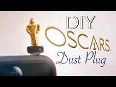 DIY Oscars Dust Plug polymer clay tutorial