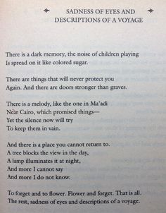 Yehuda Amichai: A Life of Poetry 1948 - 1994, p. 247 / translated by Benjamin & Barbara Harshav. ISBN 0-06-019039-6