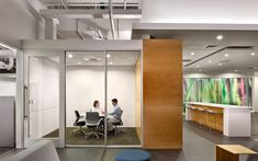 W.L. Gore | Francis Cauffman   small meeting room/focus room