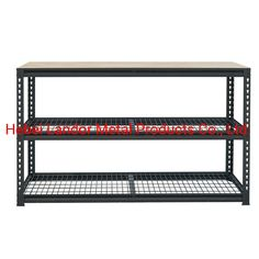 Industrial Bench for The Garage, Model NO.: LD104 Weight: 600kgs Closed: Open Development: New Type Serviceability: Common Use Trademark: Landor Transport Package: Carton and Pallet Specification: H540xW1200xD400 Origin: Hebei, China HS Code: 73269090, Port: Tianjin, China         Production Capacity:500PCS/DayPayment Terms:L/C, T/T                          Usage:Industrial, Warehouse Rack, The GarageMaterial: Steel and WoodStructure: ShelfType: Boltless/Rivet RackingMobility…