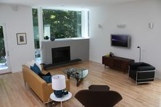 Fireplace Under Window Design Ideas, Pictures, Remodel and Decor