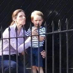 George & nanny Maria