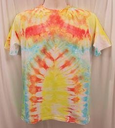 Boys Tie-Dye / Ice-Dye T-Shirt M, L, XL, XXL by ChromeLion on Etsy