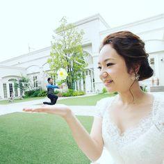 結婚式前撮りでふたりで試したい【遠近法ショット】まとめ* | marry[マリー]