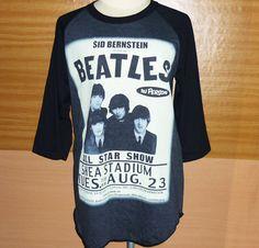 The Beatles Face Pop Rock T Shirt Raglan Tee by BlackTeenFashion The Beatles Face Pop Rock T Shirt Raglan Tee Unisex Billboard Music Men Women Long Sleeve Baseball Shirt Tshirt Gray Black Size M L $16.99 USD