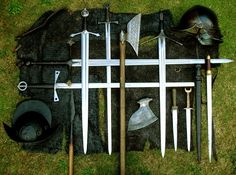 weapons from Claíomh. Irish living history amd military heritage