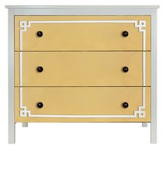 O'verlays Pippa Malm #2 Kit for Ikea Koppang 3 Drawer Chest. A classic home decor that works with any style of decorating. An easy diy furniture makeover.
