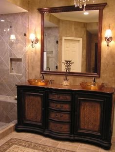 Bathroom Bathroom Chandeliers Design, Pictures, Remodel, Decor and Ideas - page 13
