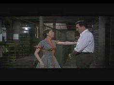 """Hernando's Hideaway"" performed by Carol Haney (Gladys Hotchkiss) and John Raitt (Sid Sorokin) on the Pajama Game (1957)"