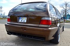 Tuning Adventure 1.0 Plauen  #tuning #crowdies #bmw #e36 #marakeshbrown