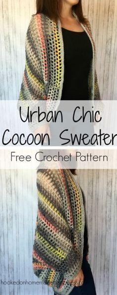 Crochet Cocoon Shrug Pattern – Lots Of Ideas