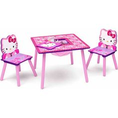 hello kitty table and chairs - Google Search