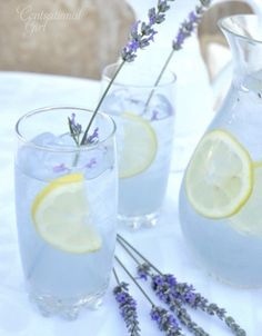 Lavender Lemonade #Food #Drink #Trusper #Tip