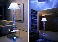 A floating lamp! Now that's an idea! put it literally ANYWHERE!