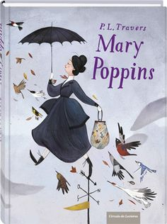 Mary Poppins (Edición especial)  P. L. Travers.  Illustrated by Julia Sarda. #book #illustration