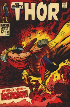 The Mighty Thor #157 - Jack Kirby