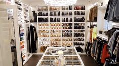 10 Luxury Walk-in Closet Design Ideas That Will Make Your Jaw Drop Walk In Closet Design, Closet Designs, Closet Tour, Celebrity Closets, Luxury Closet, Makeup Rooms, House On A Hill, Master Closet, Huge Closet