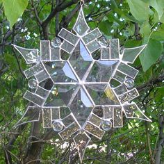 Stained Glass Snowflake 1 by CeltCraft.deviantart.com