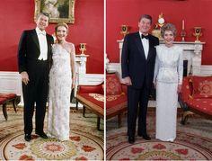 Nancy Reagan's Inaugural Gowns