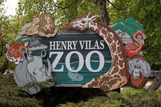 Henry Vilas Zoo. Free to the public, well maintained and always growing.