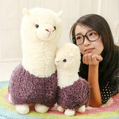 Lovely 35cm Japan Amuse Arpakasso Alpaca Plush Kawaii Kids Toys Alpacasso Brinquedos Mud Horse Soft Valentine's Day Gift