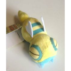 Pokemon Center 2013 Buru Buru Vibrating Dunsparce Mini Plush Toy
