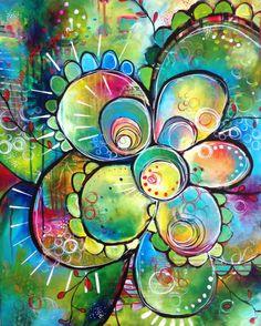 art journal mixed media inspiration Painting Progression: Commission for K & J Kunstjournal Inspiration, Art Journal Inspiration, Journal Ideas, Art Journal Pages, Art Journals, Pintura Graffiti, Art Doodle, Arte Pop, Medium Art