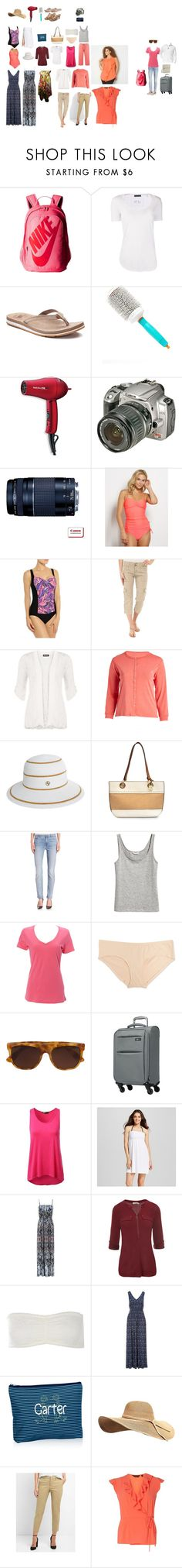 """""""Vegas September 2017 packing list"""" by donovan-heather on Polyvore featuring NIKE, ATM by Anthony Thomas Melillo, New Balance, Moroccanoil, BaByliss Pro, Sanctuary, WearAll, Jenny, Adrienne Vittadini and Nicole Miller"""