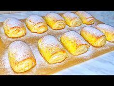 Se topesc în gură! Iată rețeta celei mai delicioase copturi!! Coptură moale şi pufoasă!!  Danutax - YouTube Sweets Recipes, Cake Recipes, Cooking Recipes, Romanian Food, Cata, Pavlova, Pretzel Bites, Hot Dog Buns, Food Videos